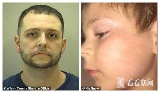 美国男子当众脱掉6岁儿子裤子猛打屁股 涉虐童被捕
