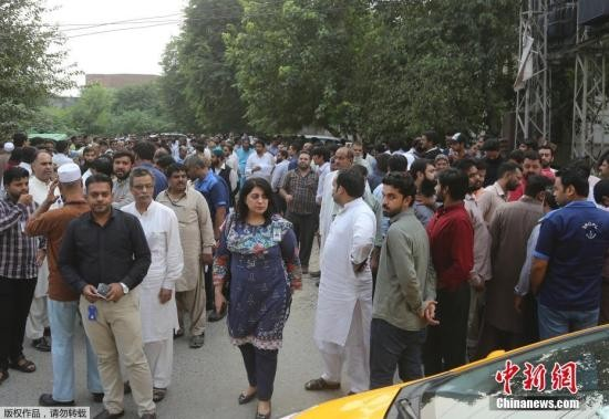 巴基斯坦地震遇难人数升至26人