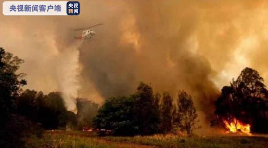 火势蔓延 澳大利亚新南威尔士丛林大火致三人死亡