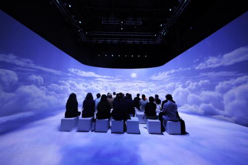 沉浸式虛擬現實互動體驗展亮相北京