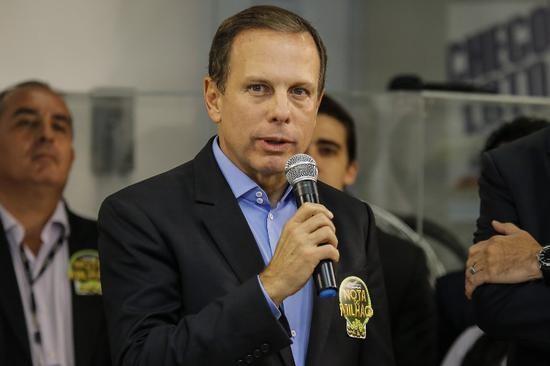 多利亚宣布圣保罗州从6月1日开始逐步解封(路透社)