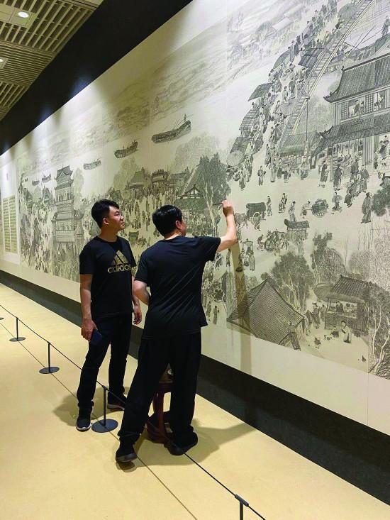 135米长《中国大运河史诗图卷》