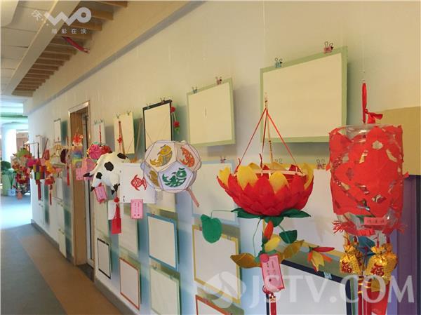 幼儿园小朋友制作的花灯创意无限!尽显科技和环保