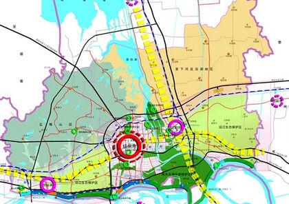 国务院原则同意《扬州市城市总体规划》