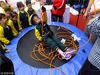 """2017年11月8日,浙江省杭州市,11月9日是第24个消防日,下城区武林广场上正在举办一场""""全民消防我代言""""""""消防安全进万家""""的宣传活动。"""