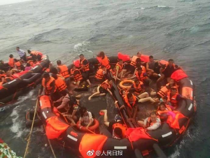 滚动   普吉岛翻船事件:3位盐城游客2位淮安游客处于失联状态