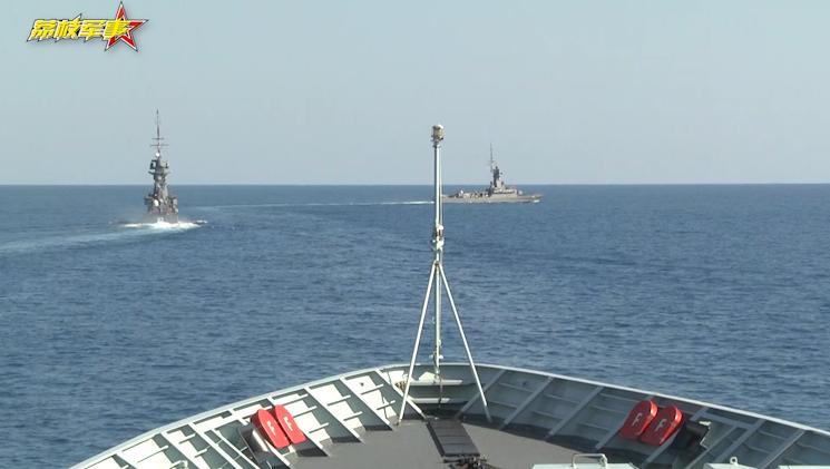 荔枝军事|中澳军舰联合开展舰机协调反潜演练