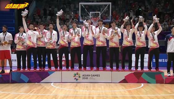 中国男篮夺亚运冠军 时隔八年重返亚洲之巅