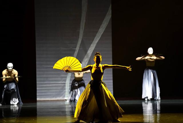 原创实验舞蹈剧场《婆娑》在南京演出