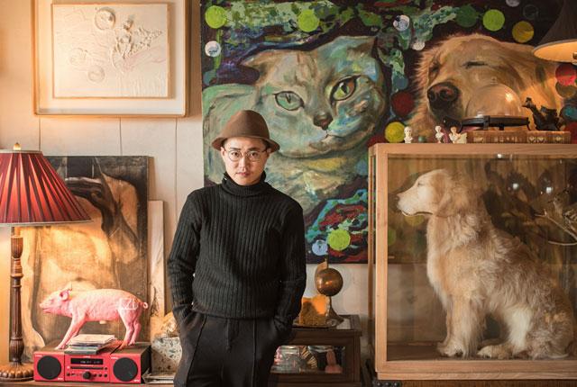 """图片故事:杭州小伙将宠物做成标本 让爱宠""""永生"""""""