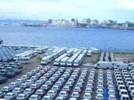 中國最大陸路口岸上半年汽車出口3.6億元