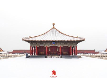 2020年的第一场雪:故宫雪景壁纸上新