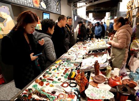 Renovated old market a new destination in Suzhou