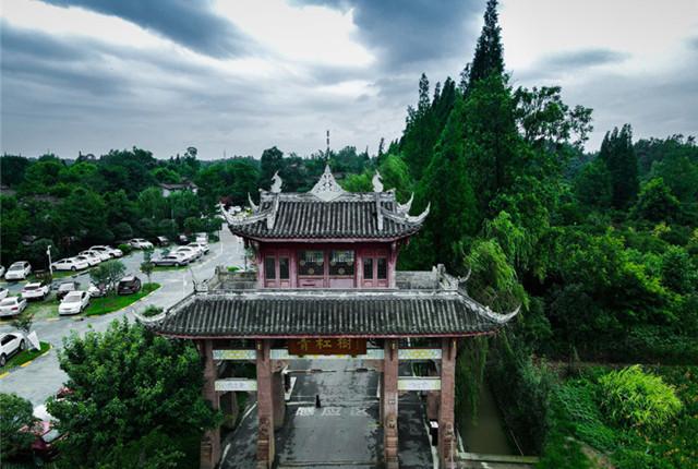 中国十大最美乡村青杠树村 川西林盘中的都市田园