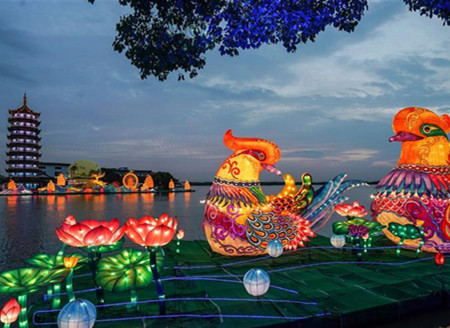 Lantern fair held in Jiangsu to celebrate Mid-Autumn Festival