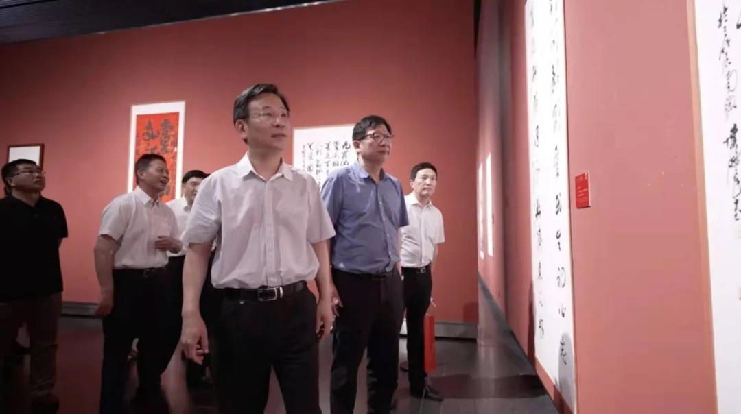 江苏统一战线庆祝建党100周年书画展在宁开幕
