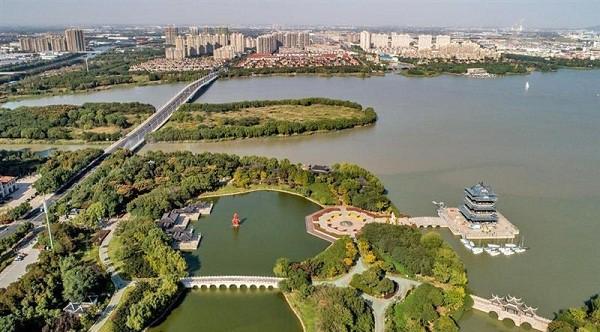 Yixing awarded as provincial ecological garden city
