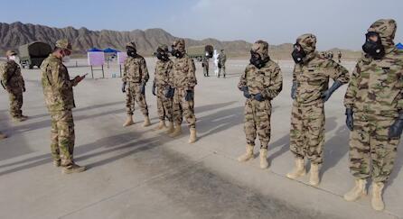 开赛在即!各国参赛队展开适应性训练 荔枝军事
