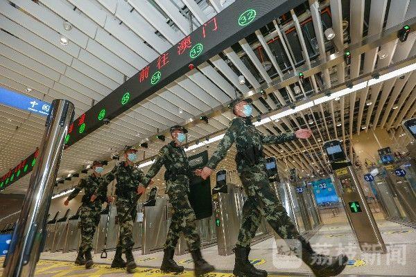 青茂口岸开通 武警官兵全力保驾护航 荔枝军事